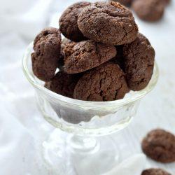 Csokoládés keksz cukor- és gluténmentesen
