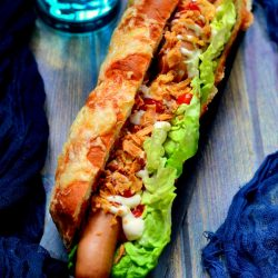 Hot dog kifli recept