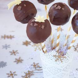 Brownie cake pop