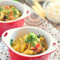 Cukkinis csirkemell indiai fűszerekkel
