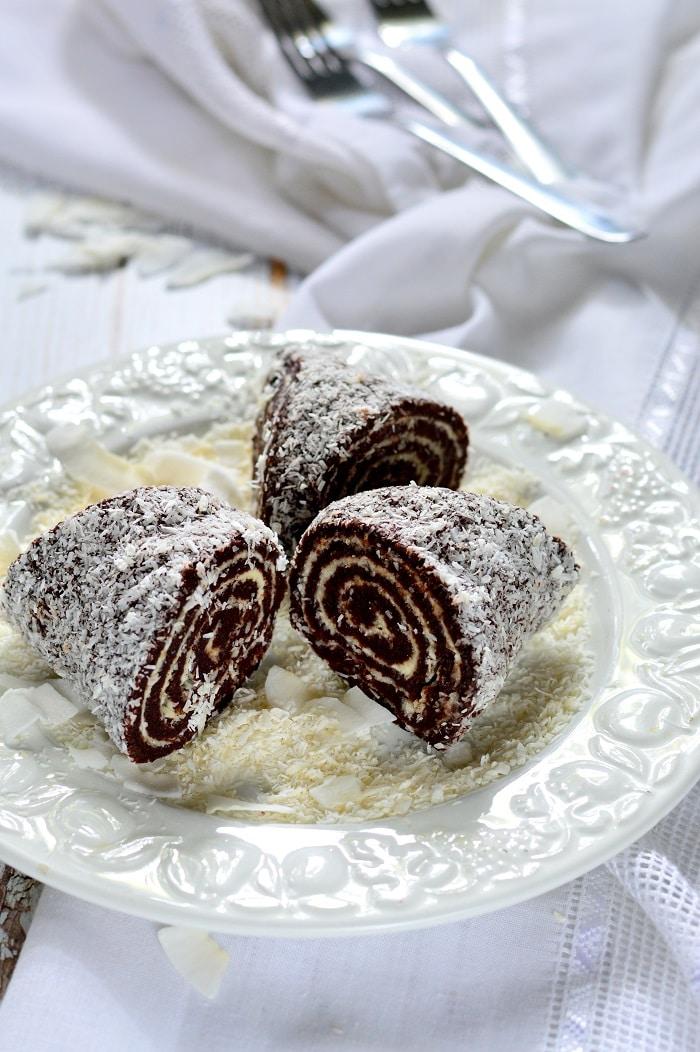 Cukormentes keksztekercs