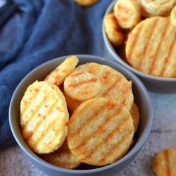 Grillezett sajtos tallér