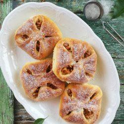 Kelt almás batyu recept