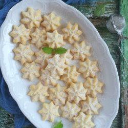 Kókuszos csillagkeksz recept