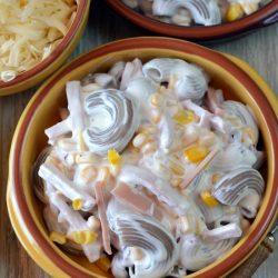 Kukoricás tésztasaláta recept