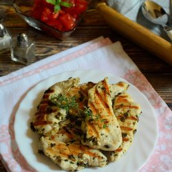 Olaszos grillezett csirkemell