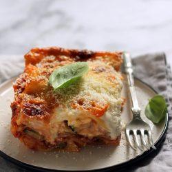 Sültzöldséges lasagne recept