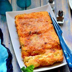 Túrós-spenótos cannelloni