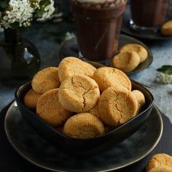 Fűszeres kókuszos keksz