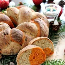 Sütőkövön sült kenyérfonat