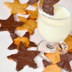 Paleo mézeskalács csokoládémázzal