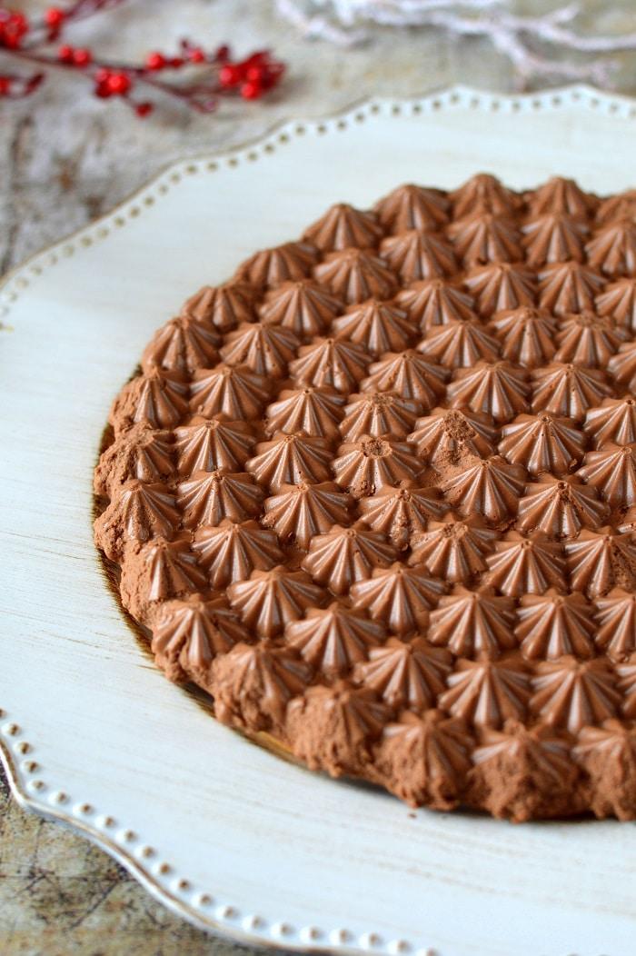 Csokoládémousse-pite