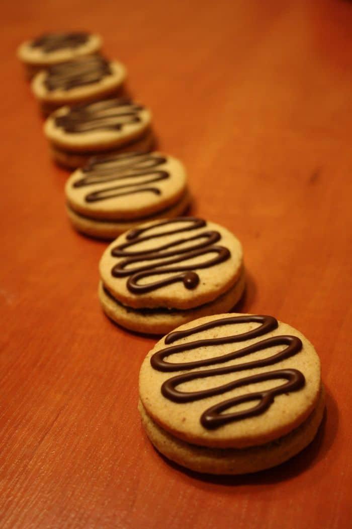 Gluténmentes csokoládés keksz