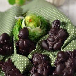 Húsvéti csokoládéfigurák