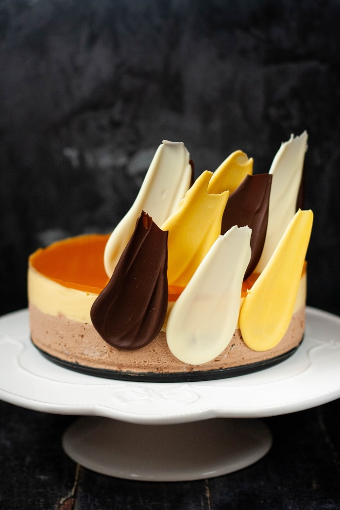 Maracujás csokoládémousse-torta