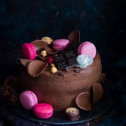 Narancsos csokoládémousse-torta