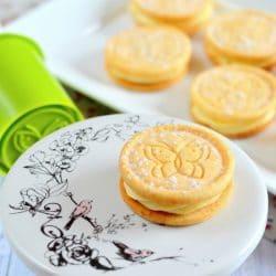Vaníliakrémes mézes keksz