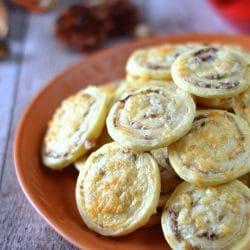 Olívás-sajtos csiga
