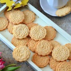 Vaníliás keksz cukor-, glutén- és laktózmentesen