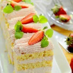 Epermousse-szelet cukor- és gluténmentesen