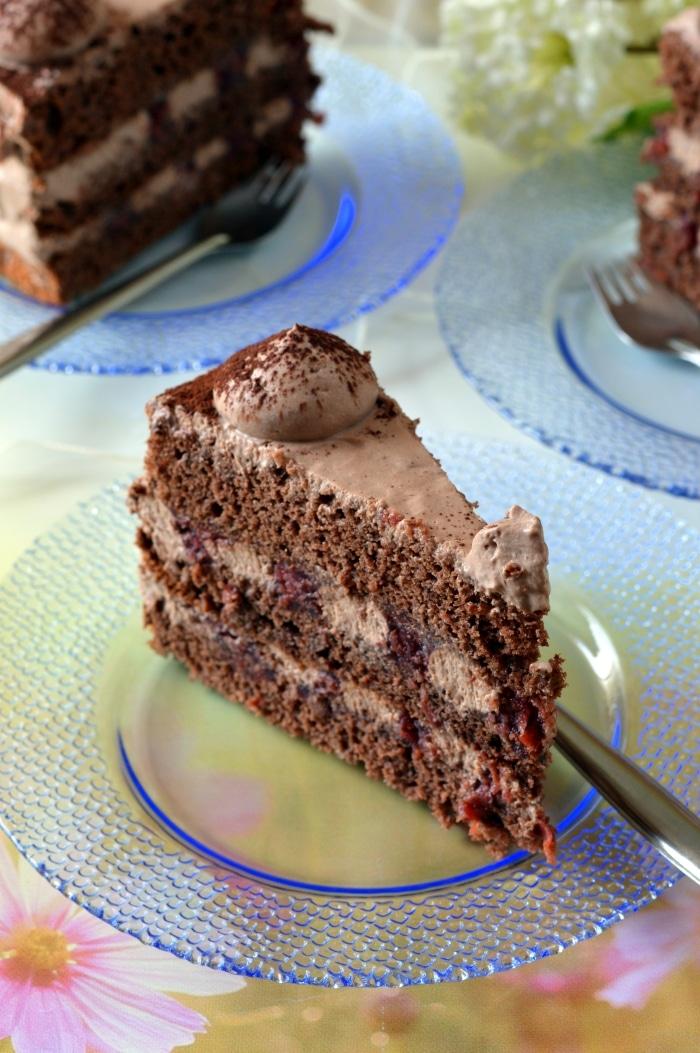 Retro Feketeerdő-torta