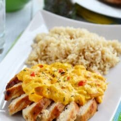 Paprikamártásos csirke