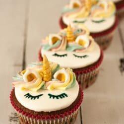 Unikornis muffin